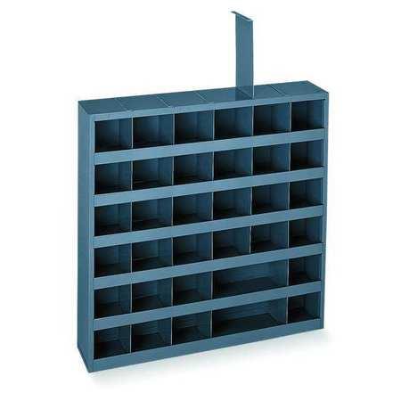 Bin Unit, 36 Bins, 23-3/4x4-3/4x23-3/4 In.