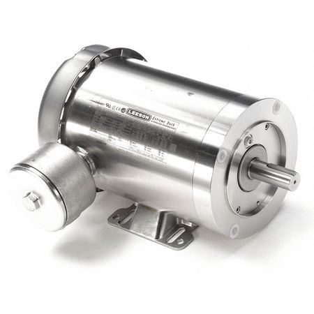 Washdown Mtr, 3 Ph, TEFC, 1-1/2 HP, 1750 rpm