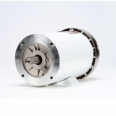 Washdown Motor, 3 Ph, TEFC, 2 HP, 3505 RPM