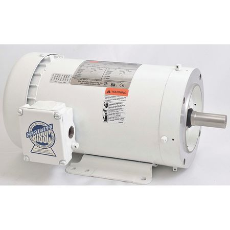 Washdown Motor, 3 Ph, TEFC, 2 HP, 1745 rpm