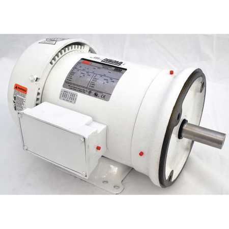 3-Phase,  5 HP,  Washdown Motors,  TEFC