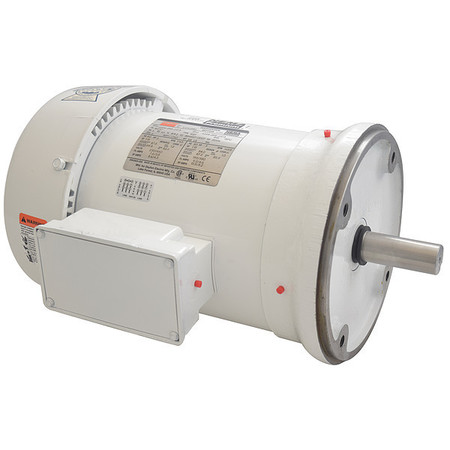 Washdown Motor, 3 Ph, TEFC, 3 HP, 1765 rpm