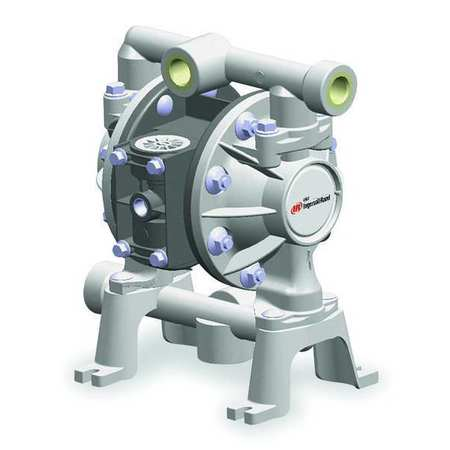 "1/2"" Kynar Air Double Diaphragm Pump 14 GPM 200F"