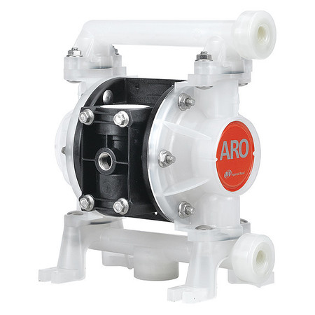"3/8"" Polypropylene Air Double Diaphragm Pump 10.6 GPM 150F"