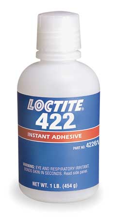 Instant Adhesive, 1 lb. Bottle, Clear