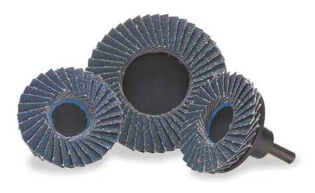 Locking Flap Disc, 3in, 36, Extra Coarse