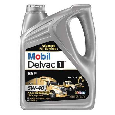 mobil mobil delvac 1 esp 5w 40 diesel 1 gal 122271. Black Bedroom Furniture Sets. Home Design Ideas