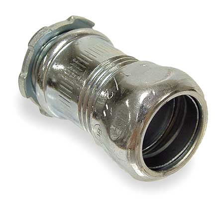 Compression Connector, 2 In, Steel