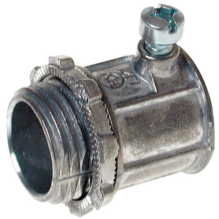 Connector, Setscrew, Non-Insulated, 3/4 In