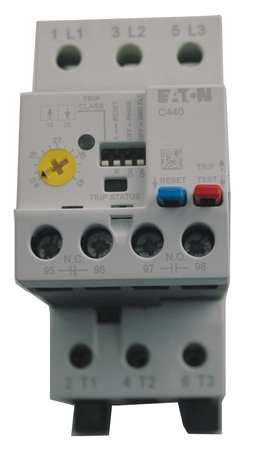 Overload Relay, 4 to 20A, Electronic, 3P
