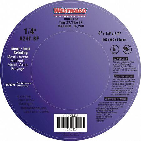 Depressed Center Wheel, T27, 4x1/4x5/8, AO