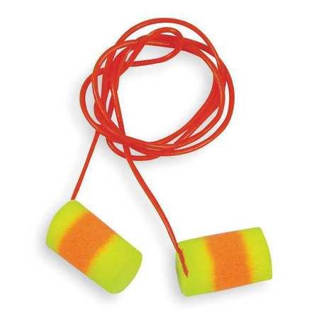 Ear Plugs, 33dB, Corded, Lrg, PK200