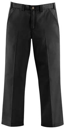 Work Pants, Black, Size 46x32 In