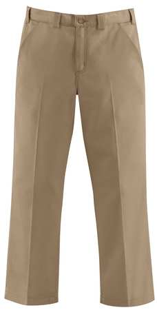 Work Pants, Khaki, Size 44x34 In