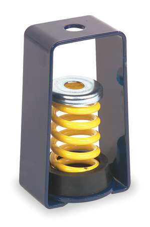 Vibration Isolator, Spring, 130 to 175 lb.