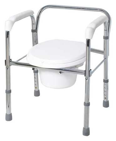Commode w/Backrest