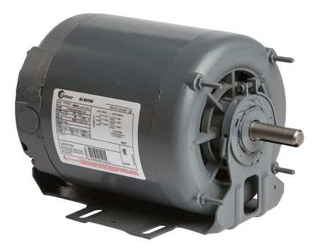Motor, 3 Ph, 1 HP, 1745/1140, 460V, Eff 70.0