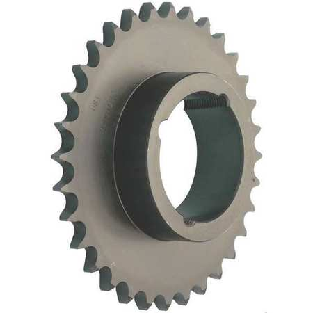 Sprocket, Taper-Lock(R), #40, OD 7.450 In