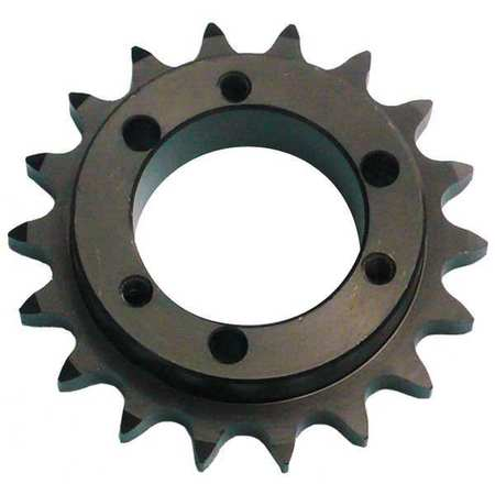 Sprocket, QD, #40, OD 4.100 In