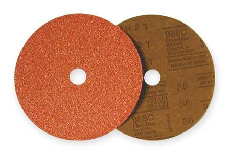 Fiber Disc, 7x7/8, 50G, PK25