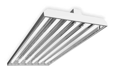 Fluorescent High Bay Fixture, T8, 193W