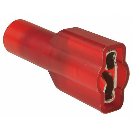 Female Disconnect, Red, 22-18AWG, PK100