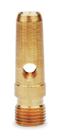 Air Gun Nozzle, 1-1/4 In. L, Brass