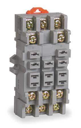 Relay Socket, Standard, Square, 11 Pin