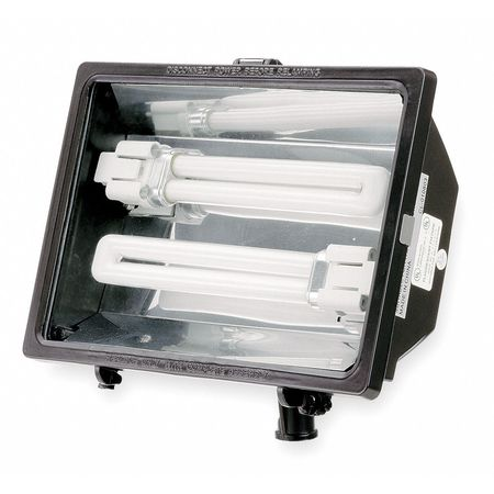 Floodlight, 26 W Compact Fluorescent, 120V