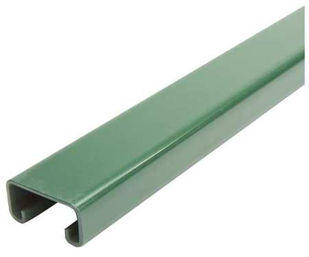 "Strut Channel, 1-5/8"" W, 5 ft. L, Green"