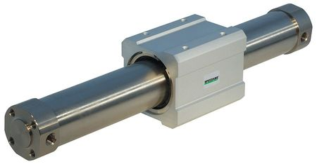 Air Cylinder, Double Acting, Rodless, 387mm
