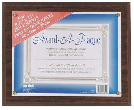 Award-A-Plaque Walnut