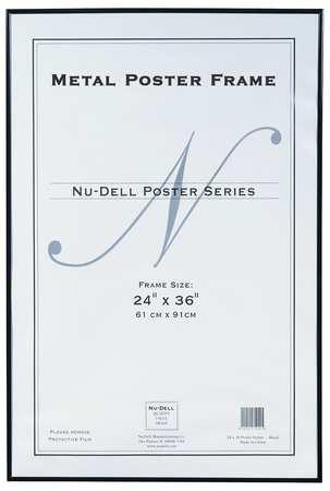 Metal Poster Frame 24x36 Black