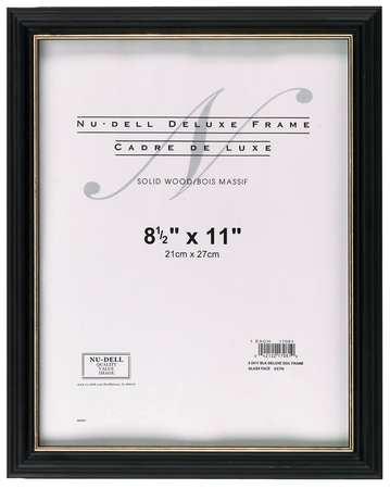 Deluxe Document Frame 8.5x11 Black