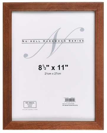 Hardwood Frame 8.5x11 Walnut Finish