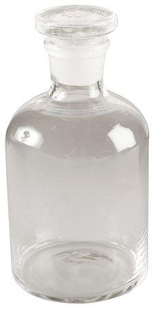 Reagent Bottle, Clear, Narrow, 125 mL, PK8