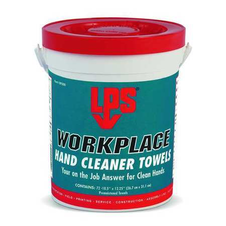 WorkPlace Hand Cleaner Towels, 10-1/2 In.