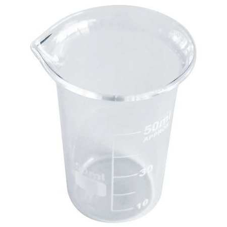 Beaker, Tall Form, Glass, 50mL, PK12