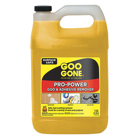 Pro-Power Cleaner, Citrus Scent, 1 Gal Bottle, 4/Carton