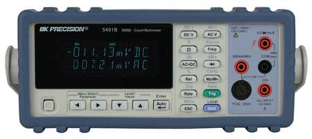 Bench Multimeter, Dual Display, True RMS