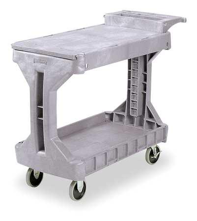 Utility Cart, 400 lb. Load Cap., PE