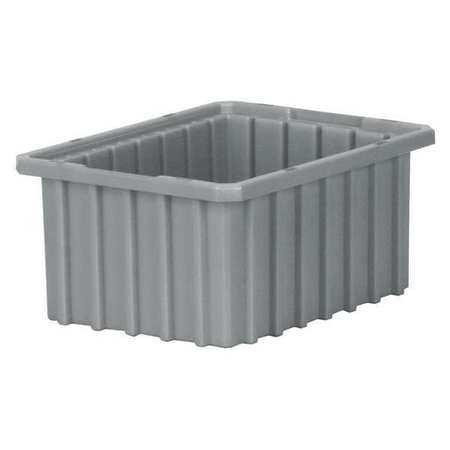 Divider Box, 10-7/8 x 8-1/4 x 5 In, Gray