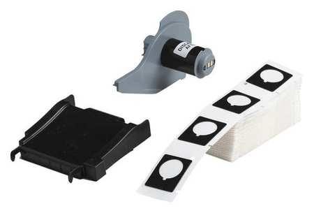 Label Cartridge, Black, 1-1/5 In. W