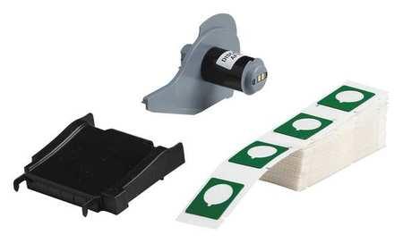 Label Cartridge, Green, 1-1/5 In. W