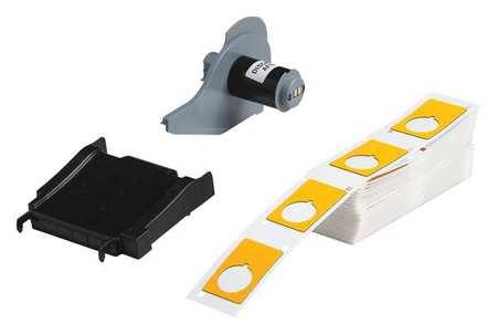 Label Cartridge, Yellow, 1-1/5 In. W