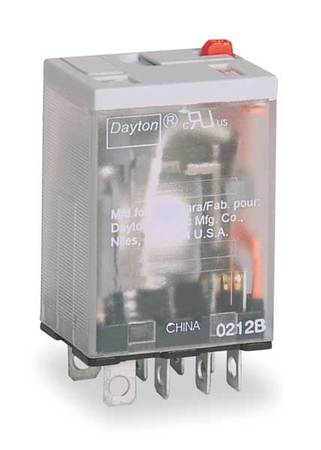Relay, 8 Pins, Dpdt, 15a