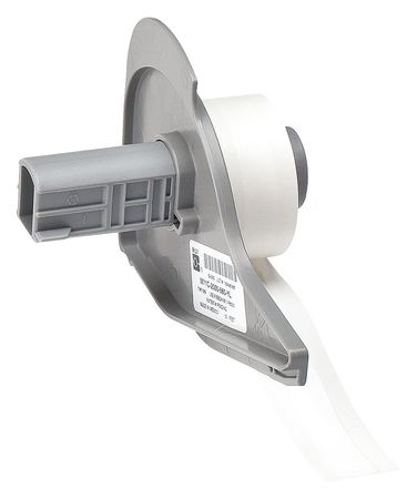 Label Cartridge, Polyester, White
