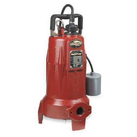Grinder Pump,  208-230V,  15 Amps, Ph 1