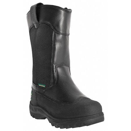 Miners Boots, Stl, Mn, 8, Blk, PR