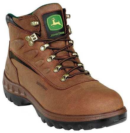 Work Boots, Stl, Mn, 8W, Tan, PR